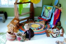 Montessori Nursery and play rooms / by Angela Compton Nelson