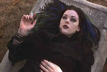 Goth girls from TV and Movies