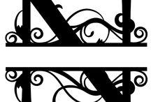 Буквы Монограммы