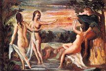 Paul Cezanne / First period 1860 - 1870