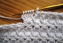 Crafts - Crochet - basic patterns / Basic stitch patterns