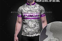 Cyclingwear mockup