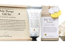 Baby Gift Sets / Our complete Gift Sets are a great alternative to making your own selection of gifts.  Choose FREE Gift-Wrapping or include them in a Room to Bloom Gift Box.