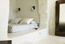 Santorini bedroom / Bedroom Santorini style
