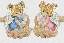 Anioły / aniołek