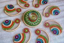 kundan - rangoli designs