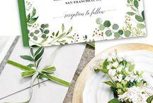 invitations wedding/bridal shower