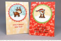 Toboggan Together - Lawn Fawn - Stamps
