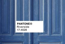 Pantone 'Riverside' / A collection of images using the 2016 color trend, Pantone 'Riverside'...