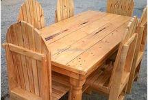 pallet furnitue- easy to make(begin hier vir sukses met hout - werk!)