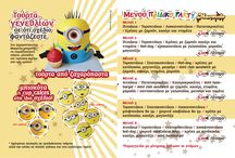 let's party!!!!!!!!!!! / party for kids, 3d cakes, cupcakes and more