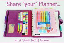 Planners - seeking planner peace