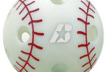 PowerWiffs nine inch Poly Plastic Baseballs with red threads / The answer to taking hitting practice before a game or steeping into the batting cage for batting practice is to get at least 25-30 swings using our (PowerWiffsTM)  With these supper realistic poly plastic baseballs with embossed red threads enable you to get an eye on how the ball looks when thrown by a pitcher. If you like this you can purchase at woodbats4sale.com