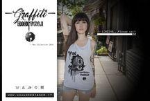"""T-Shirts / Collezione """"Graffiti Digitali"""" / Abbigliamento / T-shirts UOMO"""