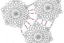 crochet- spajanie kvetov