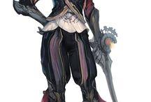 Characters / Swordsmans, Samurais