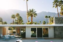 Travel // Palm Springs / An ode to the always glam, always hot and very chic Palm Springs.
