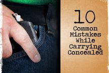 Concielled carry / by Paul OBrien