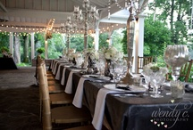 Weddings and Receptions / We do very few weddings and usually only for existing clients. We love doing them, but it's personal and we need to know our Ladies well. We throw our heart and soul into a wedding, so we only do 2 or three a year.