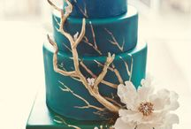 Matrimonio verde teal / Teal green wedding ideas