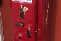 Coca Cola old vintage vending machines