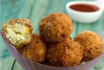 paneer potato corn balls