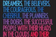 Colours and quotes.... :))