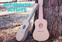 fabrication guitare en carton