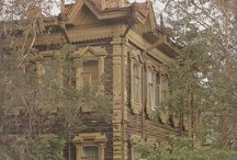 Russian wood carving and architecture2
