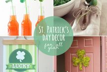 St. Patrick's Day Crafts and Recipes / This St. Patrick's Day, bring a bit of luck to your home with these DIY crafts, recipes, kid-friendly activities, printables, and more.