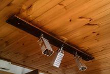 Illuminazione / Lampade e lampadari realizzati con materiali di recupero