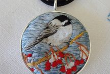 Kathy Halper Hand Embroidered Pet Portraits - Hoop Art & Jewelry / I specialize in custom hand emrboidered pet portraits. This is my board showing my work and more of my original hand embroidered necklace designs. Go to; kathyhalper.com or https://www.etsy.com/shop/KathyHalperDesigns/