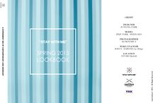 "STAY WITH ME SPRING 2015 LOOKBOOK / ""A EXPERIMENT MIX OF CONTEMPORARY AND ORDINARY"""