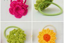 Crochet sponky