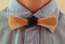 Wooden Bow Tie by Ayd'n