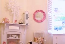 Girls French Shabby Chic Bedroom