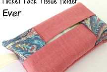 tissue cover/holder