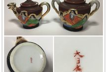 Collection - Japanese Satsuma style porcelain