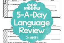 5th Grade Language / by Lesley Boyce
