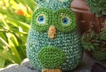 Owls / Crochet owls