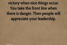 Quotes, Leadership