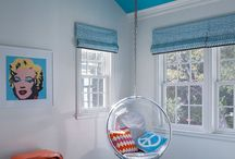 contemporary teen bedroom