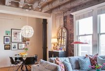 Living Rooms / Apartment living room styles that inspire. Visit ForRent.com/blog for more apartment decor ideas! / by ForRent.com