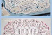Z*Crochet ~ Tablecloths, coasters