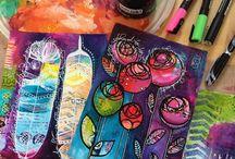 journals / art journaling