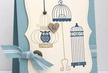 Stampin up Aviary