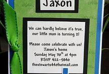 Wyatt's Birthday Party Ideas