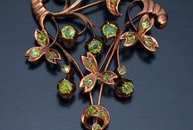 Art Nouveau/ArtDeco/Arts and Crafts Jewelry and Hair Pieces