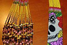 Mis creaciones: Accesorios Ana Losada / Diseñosde accesorios en mostacilla checa y piedras en general. Respetando la cultura ancestral de este bello arte y creando piezas únicas por pedido y encargos individuales. No trabajo al por mayor.