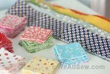 quilt from scraps